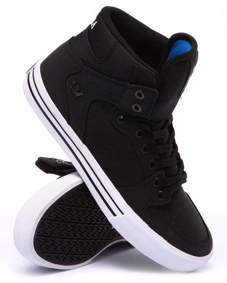 Supra - Men Black Vaider Sneakers