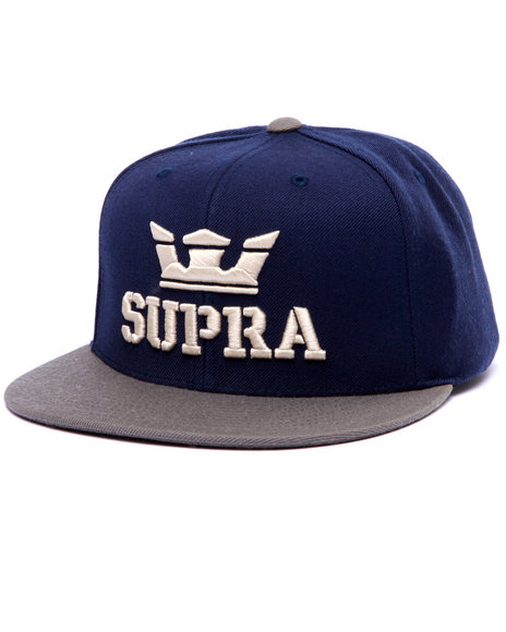 Supra Men Above Snapback Cap Navy