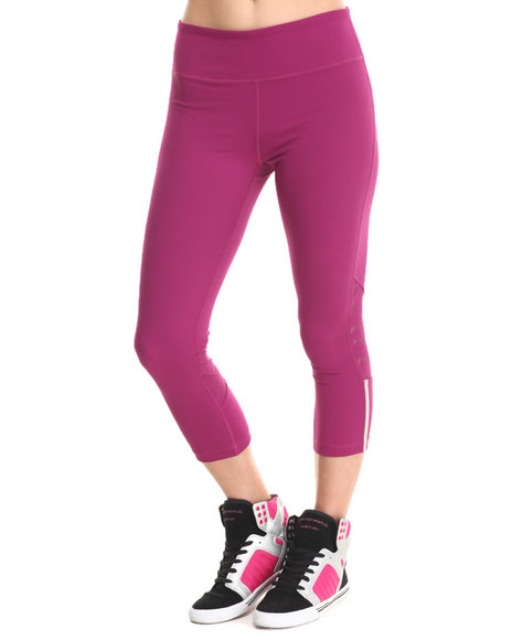 Ur-ID 213814 Under Armour - Women Purple Ua Armourvent Stretch Woven Capri