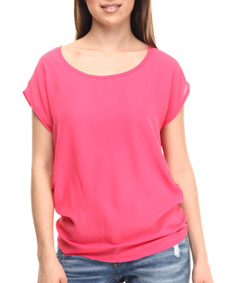 Coral Fashion Tops