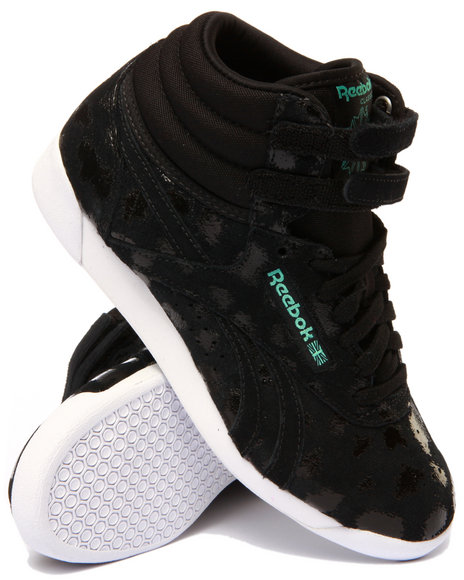 Ur-ID 213839 Reebok - Women Black Freestyle Hi Graphics