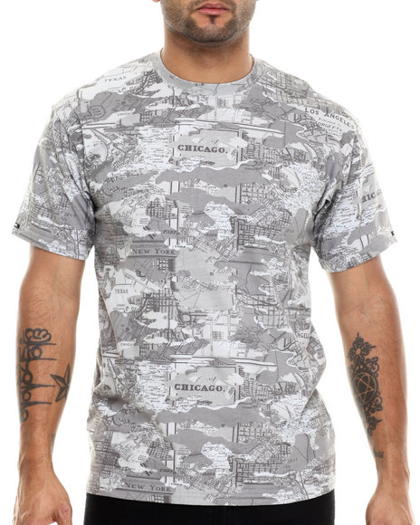 Crooks & Castles Grey T-Shirts