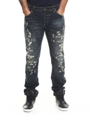 Regular - Muscle Rip & Repair Denim Jeans
