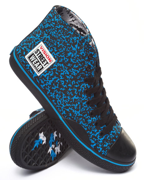Ur-ID 213995 Vision Street Wear - Men Blue Canvas Hi