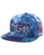 Men - Acid Camo Snapback Cap