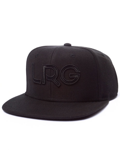 Ur-ID 223003 LRG - Men Black Lrg Branded Snapback