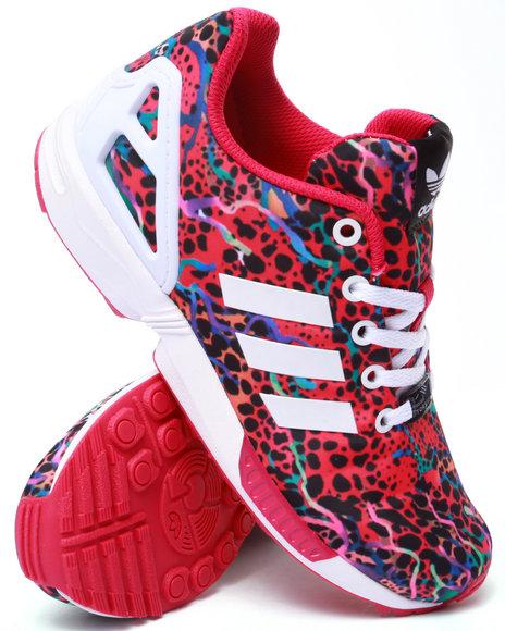 Adidas - Girls Pink Zx Flux K Sneakers (11-7) - $70.00