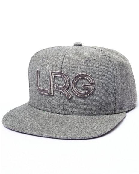 Lrg Men Lrg Branded Snapback Grey - $26.00