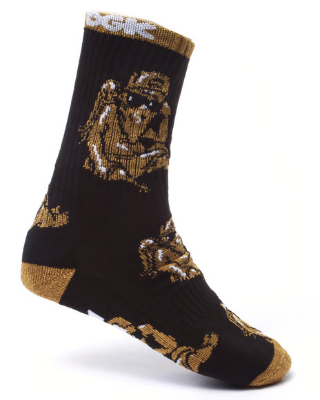 Dgk Men Judgement Crew Socks Black - $8.00