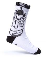 Men - Beware Crew Socks