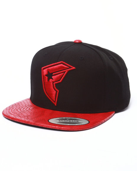 Ur-ID 223004 Famous Stars & Straps - Men Red Repstyle Red Snapback