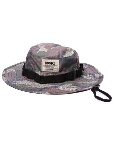 Dgk Men Cold Blood Boonie Hat Camo