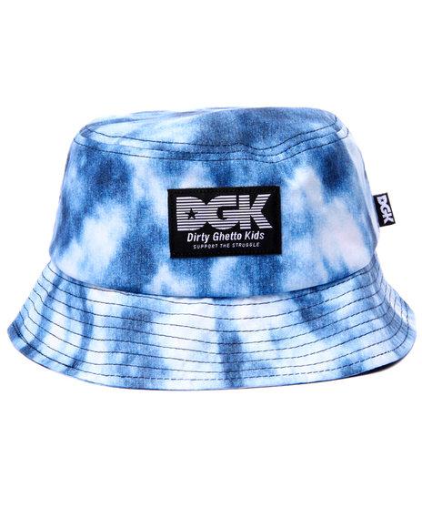 Dgk Men Acid Cloud Bucket Hat Indigo - $36.00