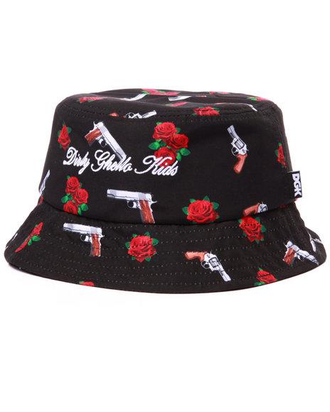 Dgk Men Yin And Yang Bucket Hat Black - $36.00