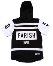 Boys - ELONGATED HOODED PULL OVER (8-20)