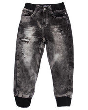 Bottoms - SNOW WASH JOGGER JEANS (4-7)