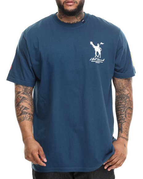 LRG - Men Blue Rc Derby T-Shirt (B & T)