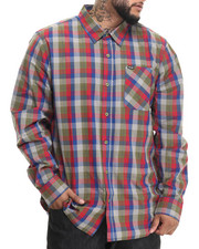 Men - RC Plaid L/S Button-Down (B&T)