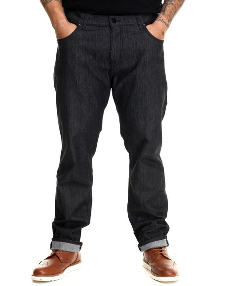 Lrg - Men Black Core Lrg True Straight Denim Jeans (B&T)