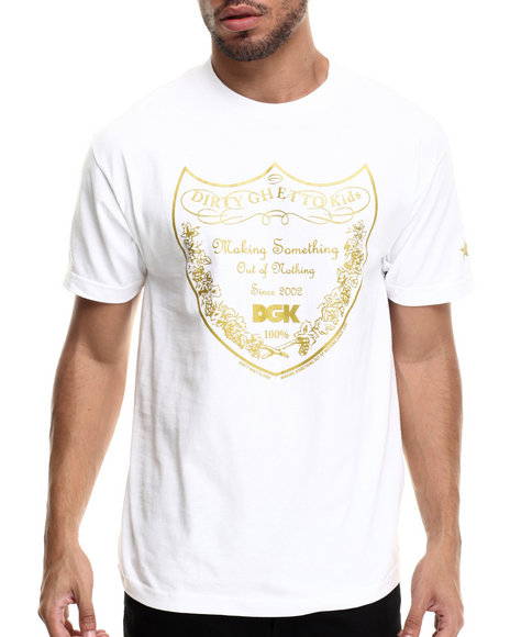 Dgk - Men White Bottle Service Tee