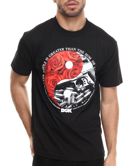 Dgk - Men Black Yin And Yang Tee
