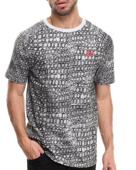 Dgk - Men Grey Never Enough Custom S/S Tee