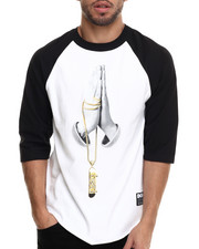 Men - DGK Saves 3/4 Sleeve Raglan Tee