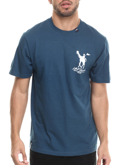 LRG - Men Blue Rc Derby T-Shirt