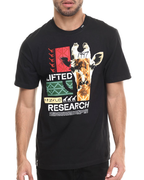 LRG - Men Black The Crossover T-Shirt