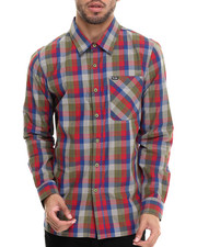 LRG - RC Plaid L/S Button-Down