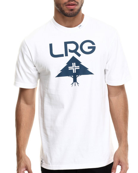 LRG - Men White Core Tree T-Shirt