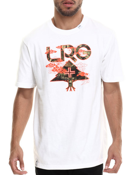 LRG - Men White Destroy Tree T-Shirt