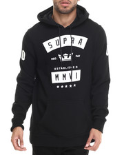 The Skate Shop - Banner Pullover Fleece Hoodie