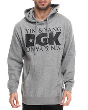 DGK - Yin and Yang Printed Pullover Fleece Hoodie