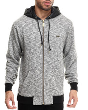 Men - Concrete Streets Zip Fleece Hoodie
