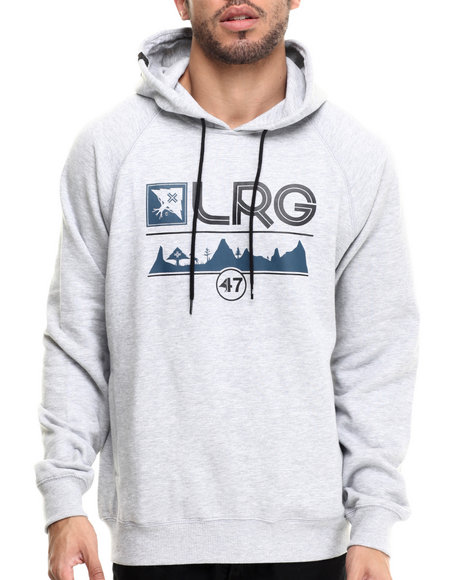 Lrg - Men Grey Motherland 47 Pullover Hoodie