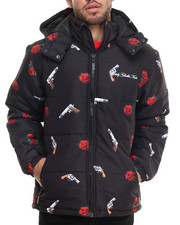 Men - Yin and Yang Puff Jacket