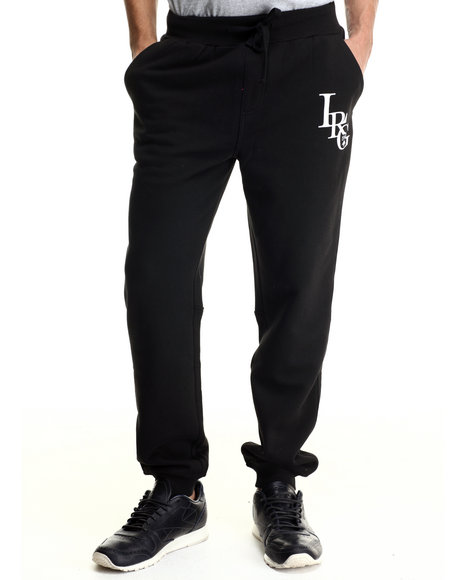 Lrg - Men Black Rc Three Letter Sweatpant