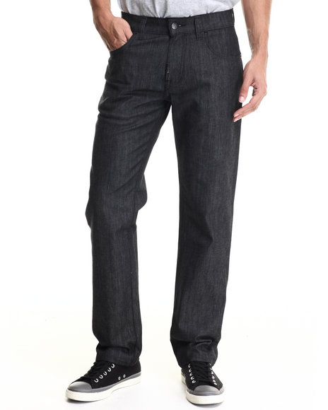 Lrg - Men Black Core Lrg True Straight Denim Jeans