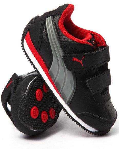 Puma - Boys Black Puma Speed Light Up Kids Sneakers (5-10)