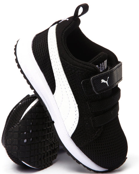 Puma - Boys Black Carson Runner Kids Sneakers (5-10)
