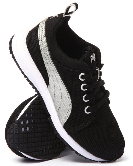 Puma - Boys Black Carson Runner Jr Sneakers (11-7)
