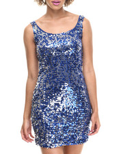 Women - Hayden Knitted Sequins Dress