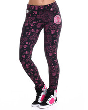 Women - Moleton 5-PKT Embellished Legging