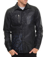 Allston Outfitter - Wax Denim L/S Button-Down