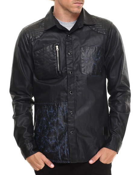 Allston Outfitter Black Button-Downs
