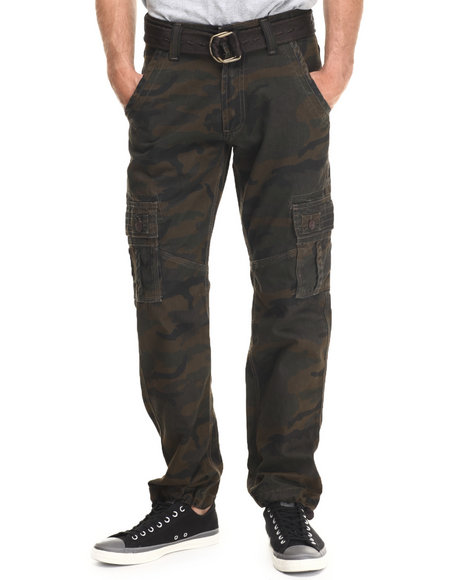Buyers Picks - Men Camo Cargo Twill Pants - $38.00