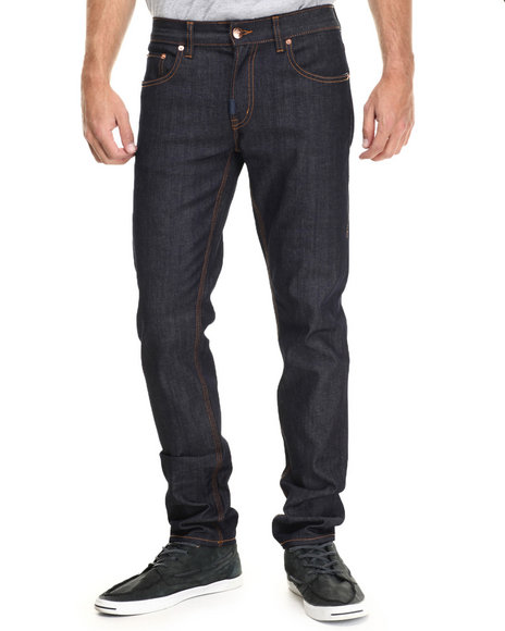 Lrg - Men Dark Wash Core Lrg Skinny Denim Jeans