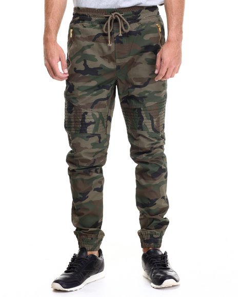 Buyers Picks - Men Camo Wax Coated Jogger - $60.00