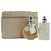 Women - VALENTINO VALENTINA EAU DE PARFUM SPRAY 2.7 OZ & BODY LOTION 3.4 OZ & MAKEUP POUCH